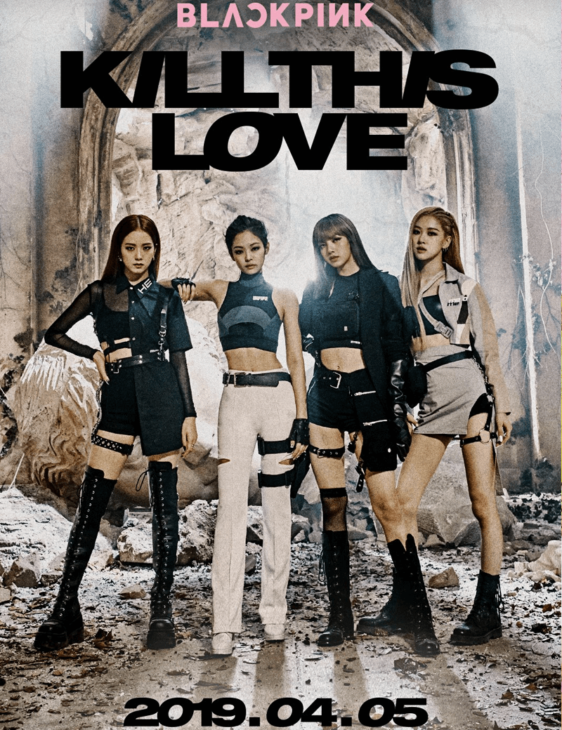 Blackpink - Kill This Love (Comeback Teaser Poster)
