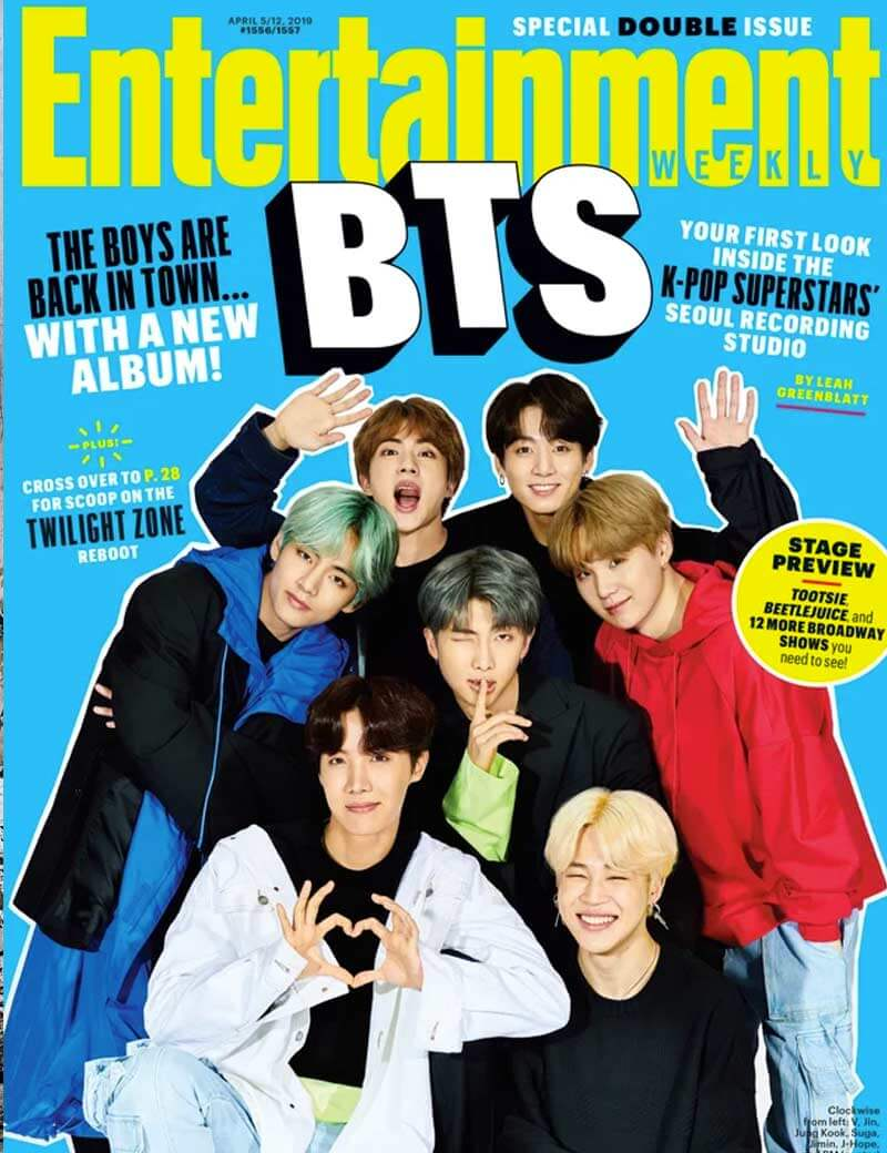 Reddit.com - BTS on the cover of Entertainment Weekly
