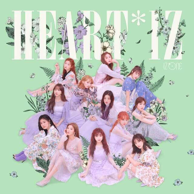 IZ*ONE- HEART*IZ (COVER IMAGE)